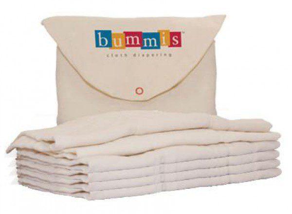 Large Bummis Organic Cotton Prefold