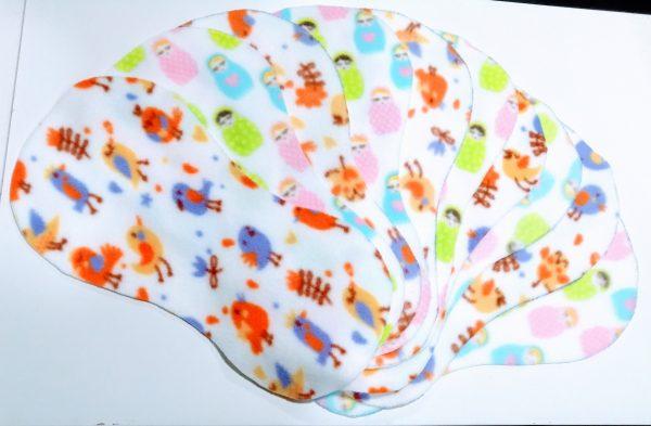 Fleece Liners 10pk for reusable cloth nappies