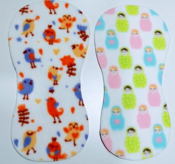 Fleece Liner single cloth nappies
