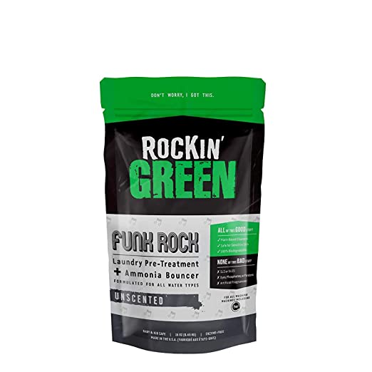 Rockin Green Funk ROCK Ammonia Bouncer