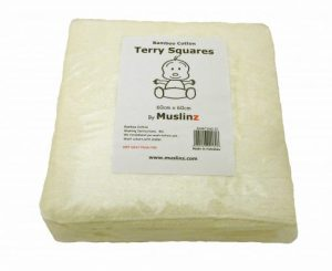 Bamboo Cotton Mix Terry Square