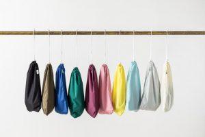 small drawstring PUL wet bag