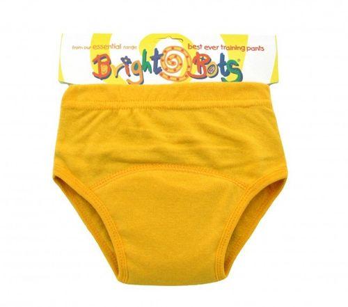 yellow Bright Bots Training Pant
