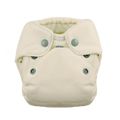 Thirsties Newborn Natural Fitted nappy