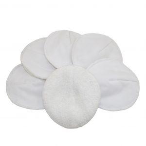 MuslinZ Bamboo Cotton Terry Nursing Pads