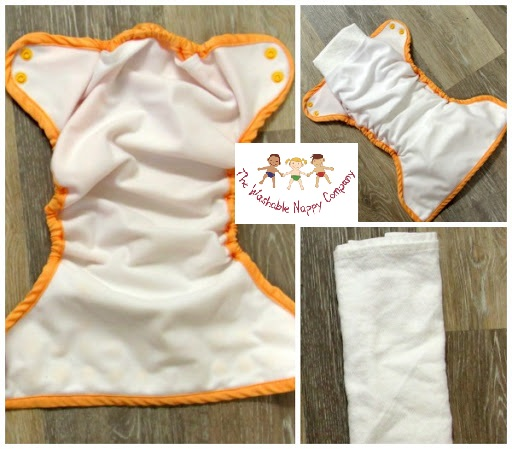 Bumgenius elelmental Joy pocket FLAT insert cotton flannel