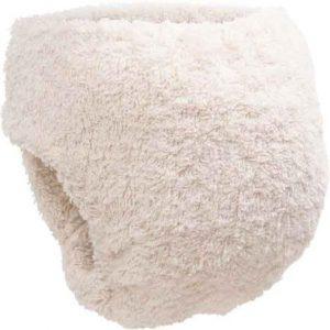 Little Lamb Organic Cotton Shaped Nappy