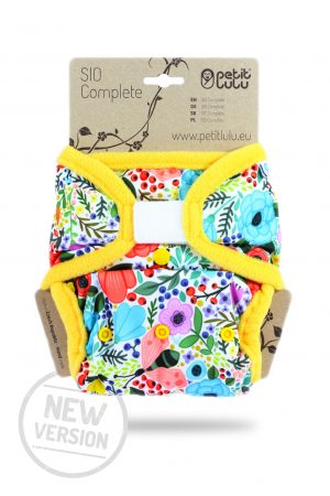 Petit Lulu Snap In One (SIO) Complete Nappy
