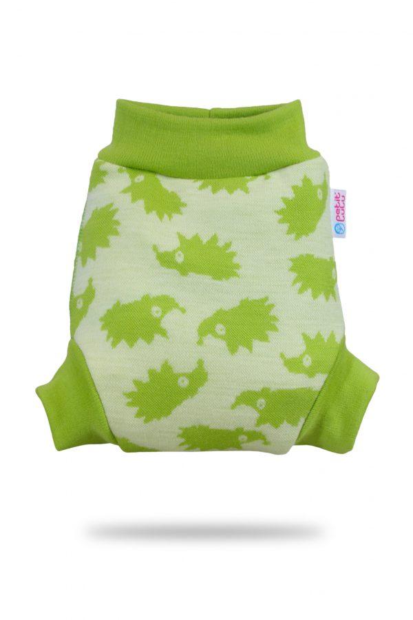 green hedgies petit lulu wool wrap