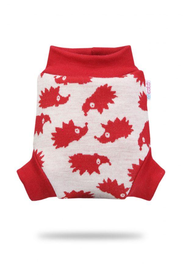 red hedgies petit lulu wool wrap