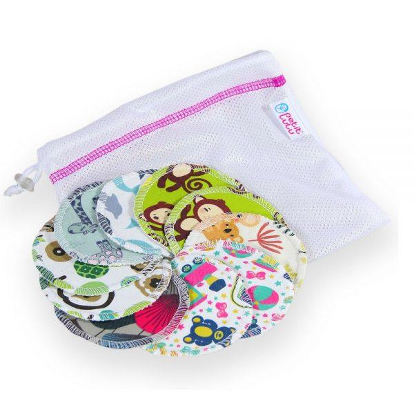 10 Pack with Mesh Bag Petit Lulu Makeup Remover Pads