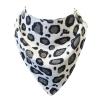 leopard muslinz dribble bib
